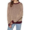 SWELL Walbrook Contrast Womens Knits - Rust
