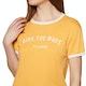 Billabong Ringer Damen Kurzarm-T-Shirt