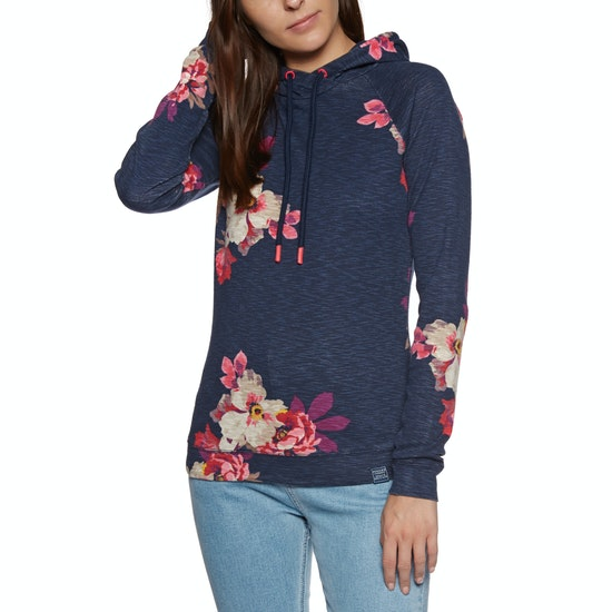 Joules Marlston Print Lightweight Womens Pullover Hoody