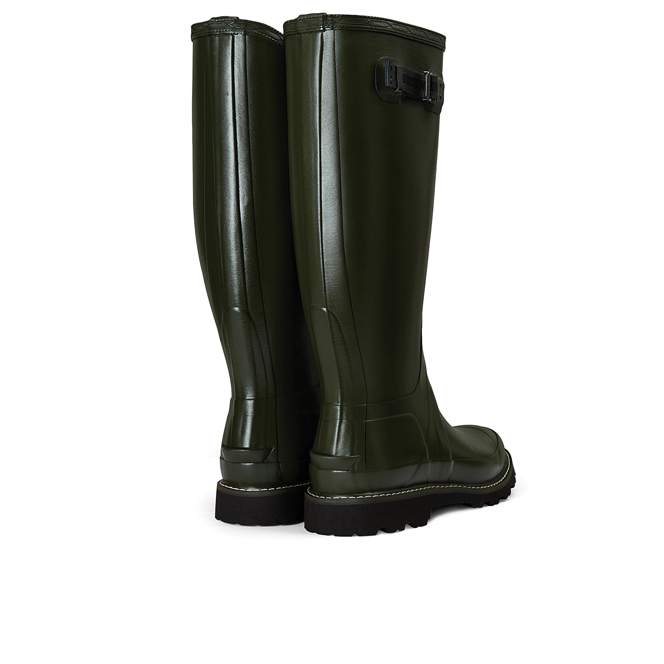 Stivali di Gomma Uomo Hunter Balmoral II Dark Olive in