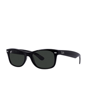 Gafas de sol Ray-Ban New Wayfarer - Black ~ Crystal Green