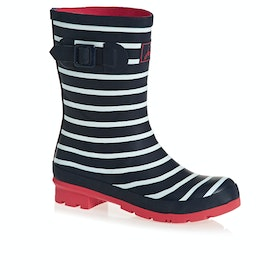 Joules Molly Womens Wellies - French Navy Stripe