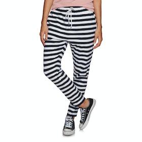 Loungewear Bottoms SWELL Innate Jersey Lounge Pants - Navy White Stripe