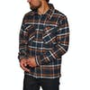 Patagonia Insulated Fjord Flannel Shirt - Tom's Place Navy Blue