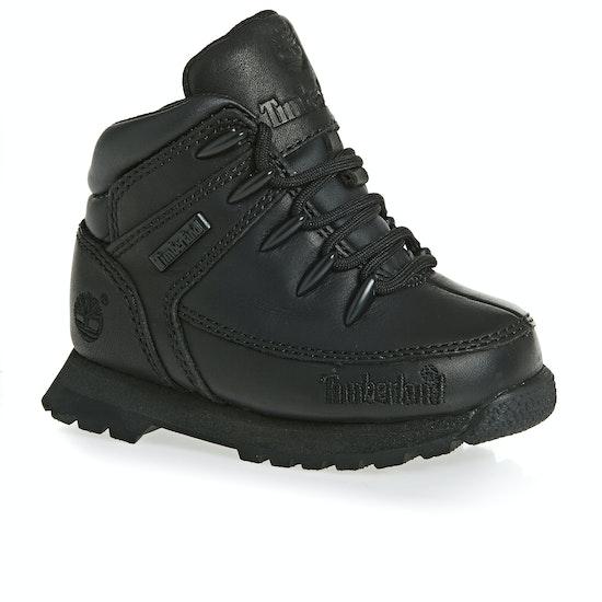 Timberland Euro Sprint Black Kinder Stiefel