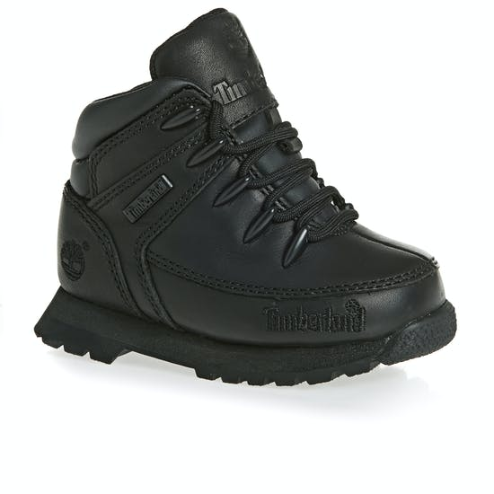 6b2a2d1ee32 Timberland Euro Sprint Black Kids Boots available from Surfdome