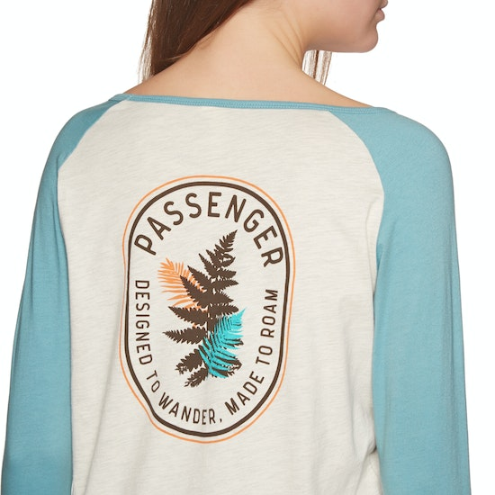 Passenger Clothing Staghorn Womens Long Sleeve T-Shirt