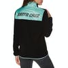 Santa Cruz Peak Womens Fleece - Black/aqua