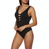 SWELL Miami Cross Over Womens Swimsuit - Black