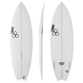 Surfboard Channel Islands Rocket Wide Futures - White