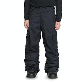 DC Banshee , Snowboardbyxa Boys - Black