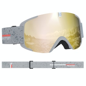 Salomon X View Snow Goggles - White Bronze