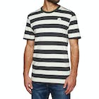 Hurley Custom Striped Mens Short Sleeve T-Shirt