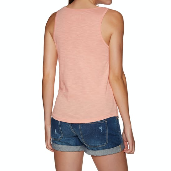 Roxy Red Lines Ladies Tank Vest
