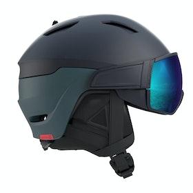 Salomon Driver Ski Helmet - Blue/solar