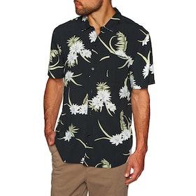 SWELL Key West Short Sleeve Shirt - Black