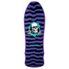 Plataforma de patinete Powell Reissue Gee Gah Ripper 9.75 Inch - Purple