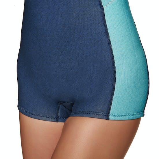 Billabong Spring Fever 2mm 2019 Long Sleeved Shorty Wetsuit