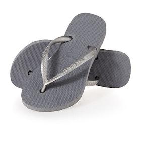 Havaianas Slim Kids Sandals - Steel Grey