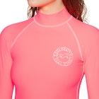 Billabong Logo In Long Sleeve Ladies Rash Vest