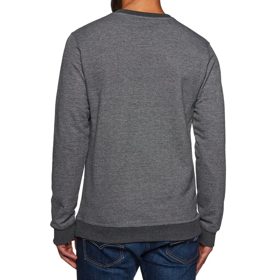 Rip Curl Yarn Dyed Stripe Crew Fleece Sweater