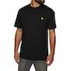 T-Shirt à Manche Courte Carhartt Chase - Black Gold