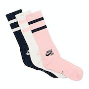 Nike SB 3 Pack Crew Sports Socks