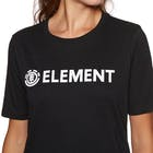 Element Logo Crew Ladies Short Sleeve T-Shirt