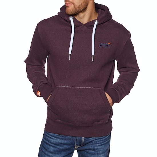 new arrival 7d7d7 9f7ef Superdry Orange Label Pullover Hoody - Free Delivery options ...