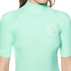 Billabong Logo In Short Sleeve Ladies Rash Vest