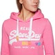 Superdry Vintage Logo Pop Entry Womens Pullover Hoody
