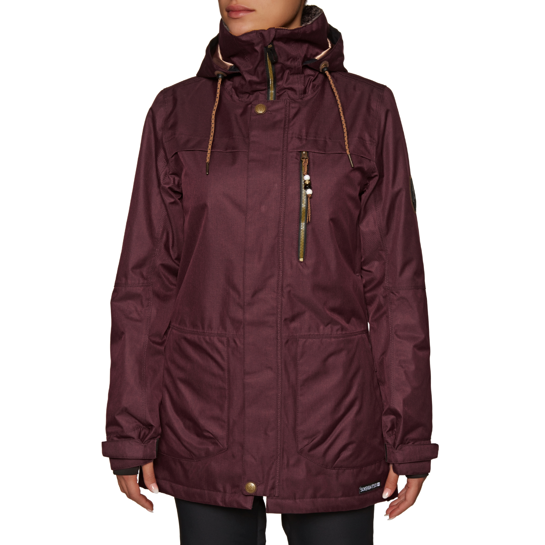 Womens Insulated Spirit JacketFree Options 686 Snow Delivery Nvw8n0m