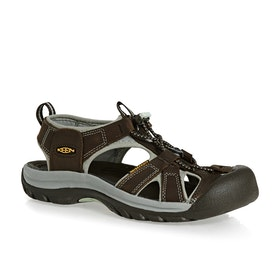 Keen Venice Womens Sandals - Black Olive Surf Spray
