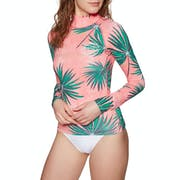 Billabong Surf Capsule Long Sleeve Ladies Rash Vest
