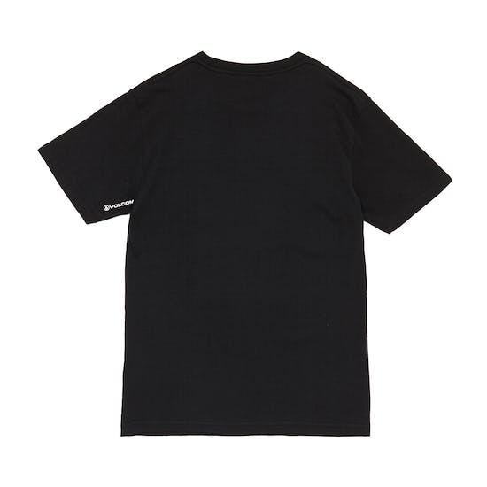 Volcom Crisp Stone Basic Boys Short Sleeve T-Shirt