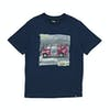 Animal Shredder Boys Short Sleeve T-Shirt - Dark Navy