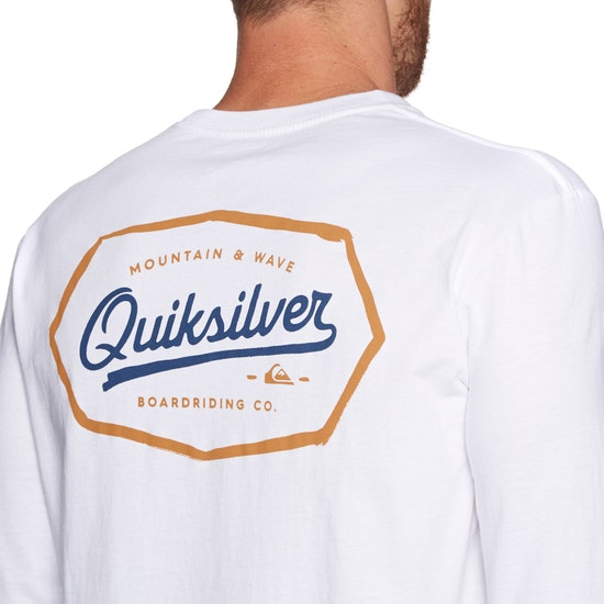 T-Shirt à Manche Longue Quiksilver Live On The Edge