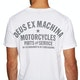 Camiseta de manga corta Deus Ex Machina Camperdown Address