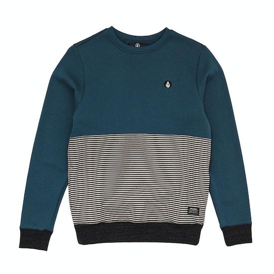 Volcom Threezy Crew Boys Sweater