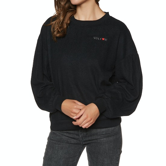 Volcom Fleece Pleaze Crew Ladies Sweater