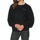 Sweater Senhora Volcom Fleece Pleaze Crew
