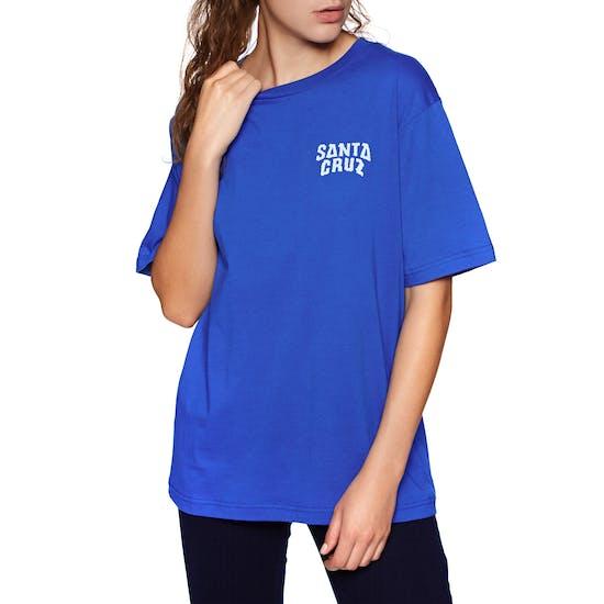 Santa Cruz Screaming Hand Badge Ladies Short Sleeve T-Shirt