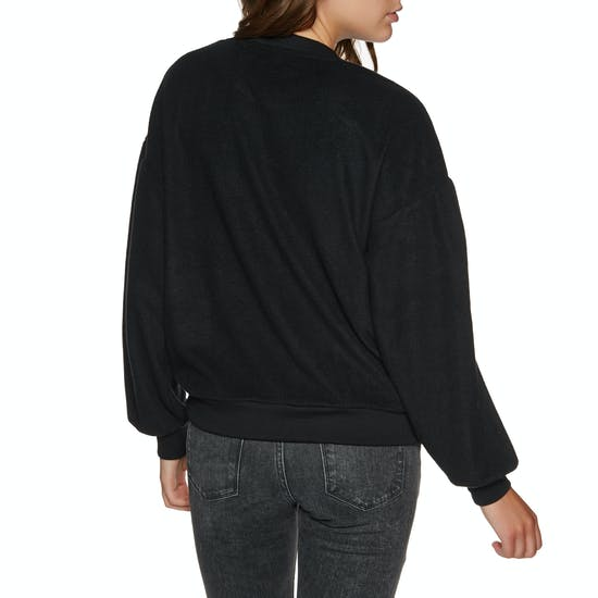 Volcom Fleece Pleaze Crew Ladies Sweater