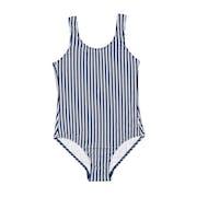 Seafolly Ocean Tapestry Stripe Tie Back Tank Girls Swimsuit