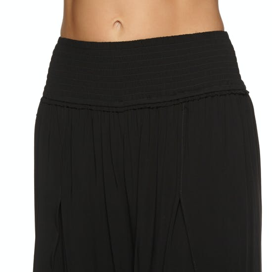 Seafolly Sun Temple Shirred Waist Wrap Pant Ladies Trousers