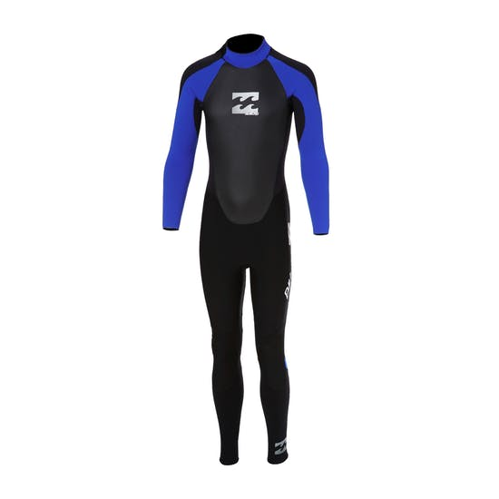Billabong Intruder 5/4mm Back Zip Kids Wetsuit