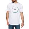 Quiksilver Slab Session Short Sleeve T-Shirt - White