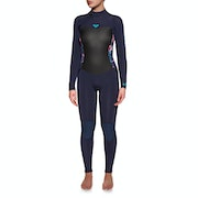 Roxy Syncro Series 5/4mm Back Zip Dames Wetsuit