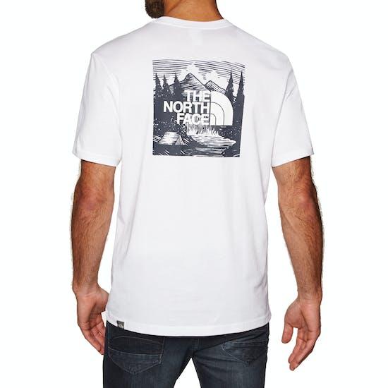 North Face Red Box Celebration T-Shirt Korte Mouwen