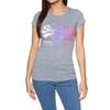 Superdry Premium Goods Side Fade Entry Dames T-Shirt Korte Mouwen - Charcoal Rugged